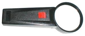 Ruční lupa s průměrem čočky 65mm a 3x zvětšením a LED osvětlením