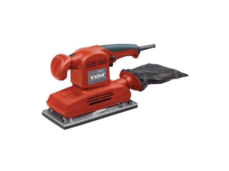 Bruska vibrační, 280W EXTOL PREMIUM OS 280E 8894001