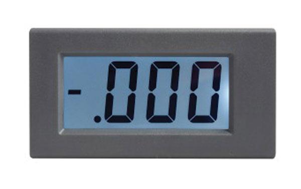 Panelové měřidlo 19,99V WPB5035-DC voltmetr panelový digitální LCD s podsvícením