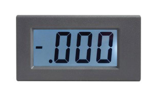 Panelové měřidlo 199,9V WPB5035-DC voltmetr panelový digitální LCD s podsvícením