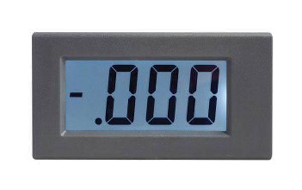 Panelové měřidlo 199,9uA WPB5035-DC ampérmetr panelový digitální LCD s podsvícením