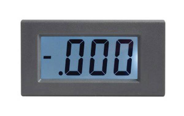 Panelové měřidlo 199,9mA WPB5035-DC ampérmetr panelový digitální LCD s podsvícením