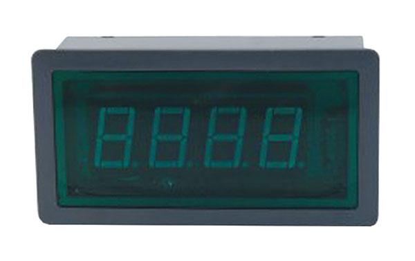 Panelové měřidlo 10A WPB5135-DC ampérmetr panelový digitální LED