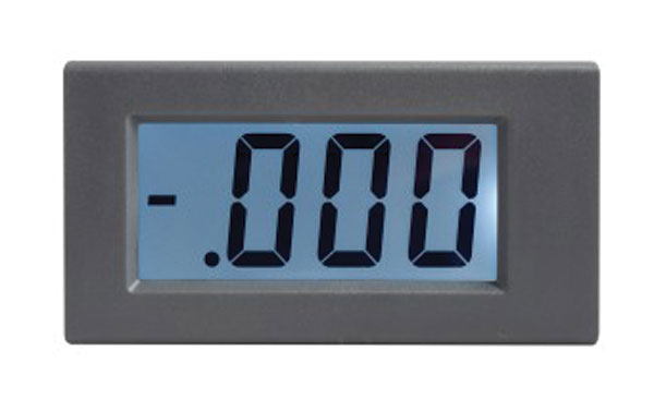 Panelové měřidlo 1,999V WPB5035-DC voltmetr panelový digitální LCD s podsvícením