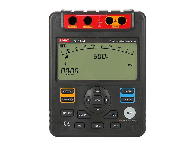 Tester izolace 5kV s USB UNI-T UT513A