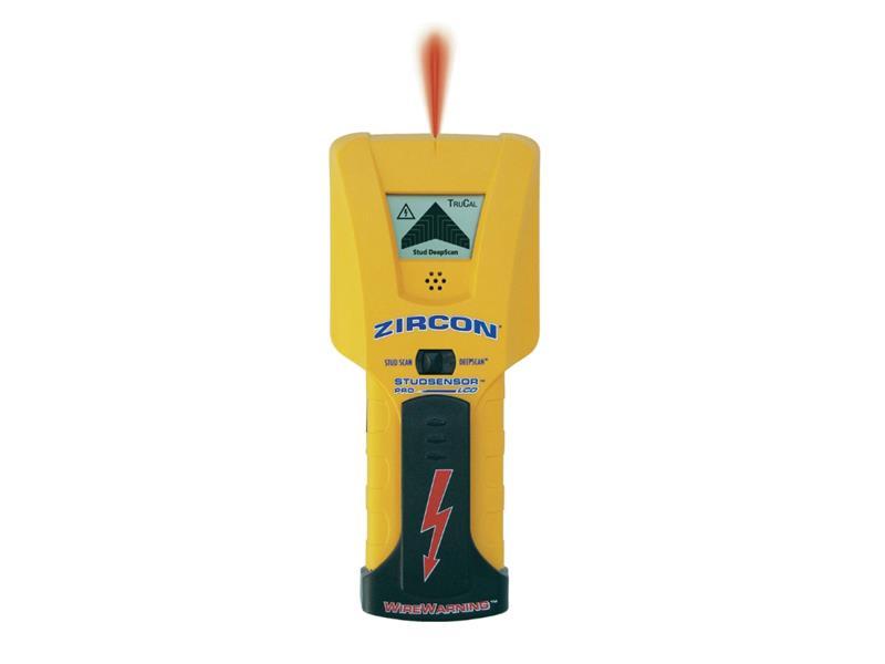 Detektor kovů, dřeva a elektrických vedení Zircon STUDSENSOR PRO LCD