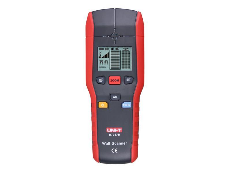 Detektor kovů, dřeva a elektrických vedení UNI-T UT387B